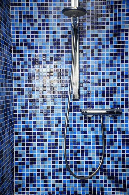 Photo Badezimmer Dangastermoor Varel Oldenburg Dusche Mosaik