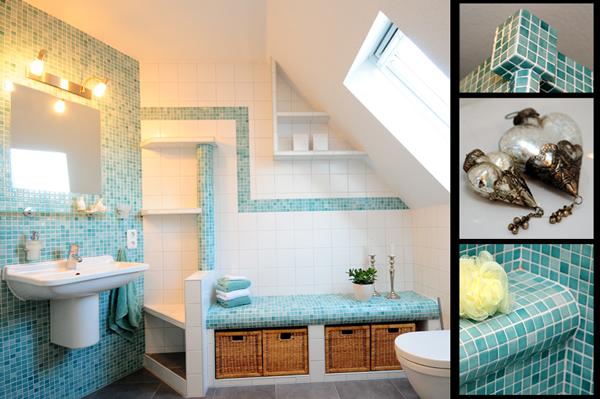 Bad | Jadebusen - Fliesenlegermeister Andre ... Badezimmer Mit Glasmosaik