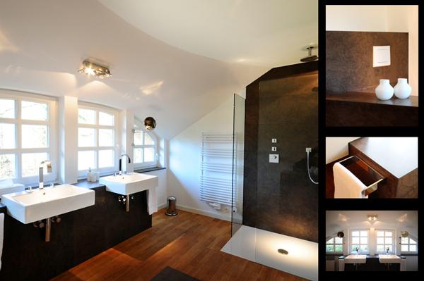 Badezimmer Wandablage ~ Photo ModernesBadezimmerVarelOldenburgMoorhausen2Übersicht